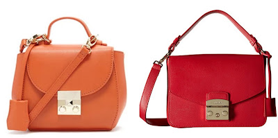 One of these bags is from Furla for $398 and the other is from Forever 21 for $23. Can you guess which one is the more expensive bag? Click the links below to see if you are correct.