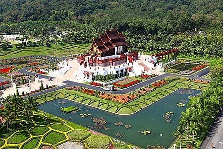 10 Inspirational Botanic Gardens | Royal Flora Ratchaphruek, Chiang Mai, Thailand