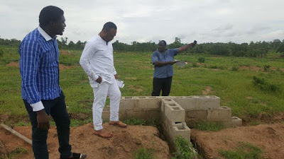 ACTRESS TONTO DIKEH'S HUSBAND CHURCHILL GOES INTO MECHANIZED FARMING – SEE THE 280 PLOTS OF LAND ACQUIRED (PHOTOS)