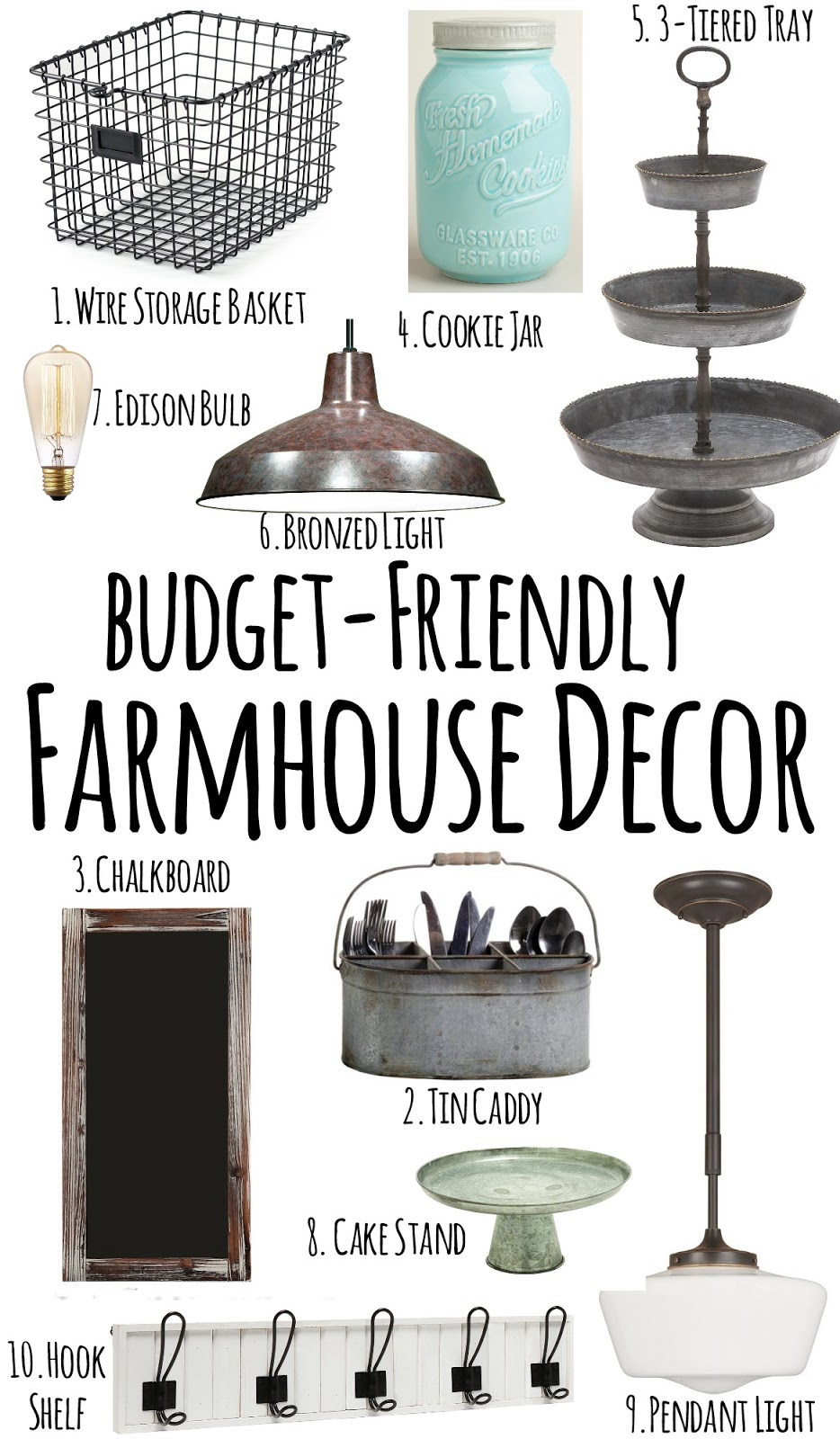 Farmhouse Style Decor Chic On A Shoestring Decorating