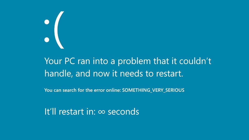 BSOD error screen 2 HD