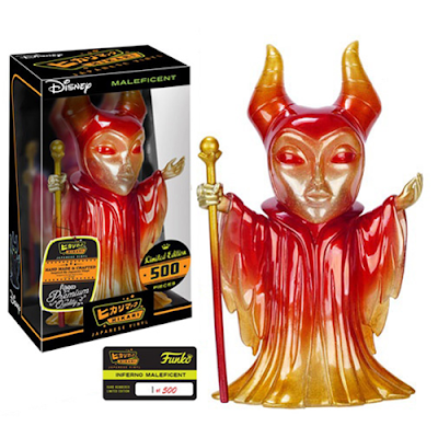 "Sleeping Beauty ""Inferno"" Maleficent Hikari Sofubi Vinyl Figure by Funko x Disney"