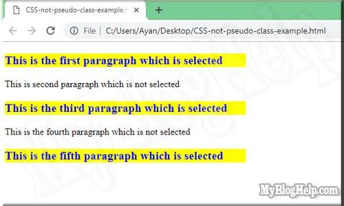 pseudo-class-not-selector-example