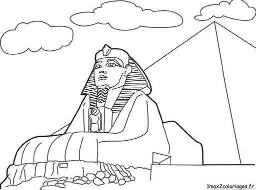 Desenhos De Piramides Para Colorir