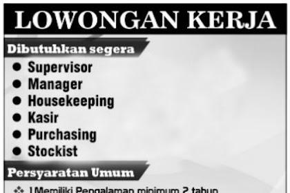 Lowongan Kerja Masterpiece Family KTV Lampung