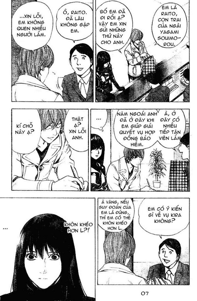 Death Note chapter 012 trang 8