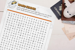 Image: Word Search Road Trip Style