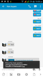 BBM MOD v3.0.1.25 with Save Timed Picture Terbaru Apk 2016