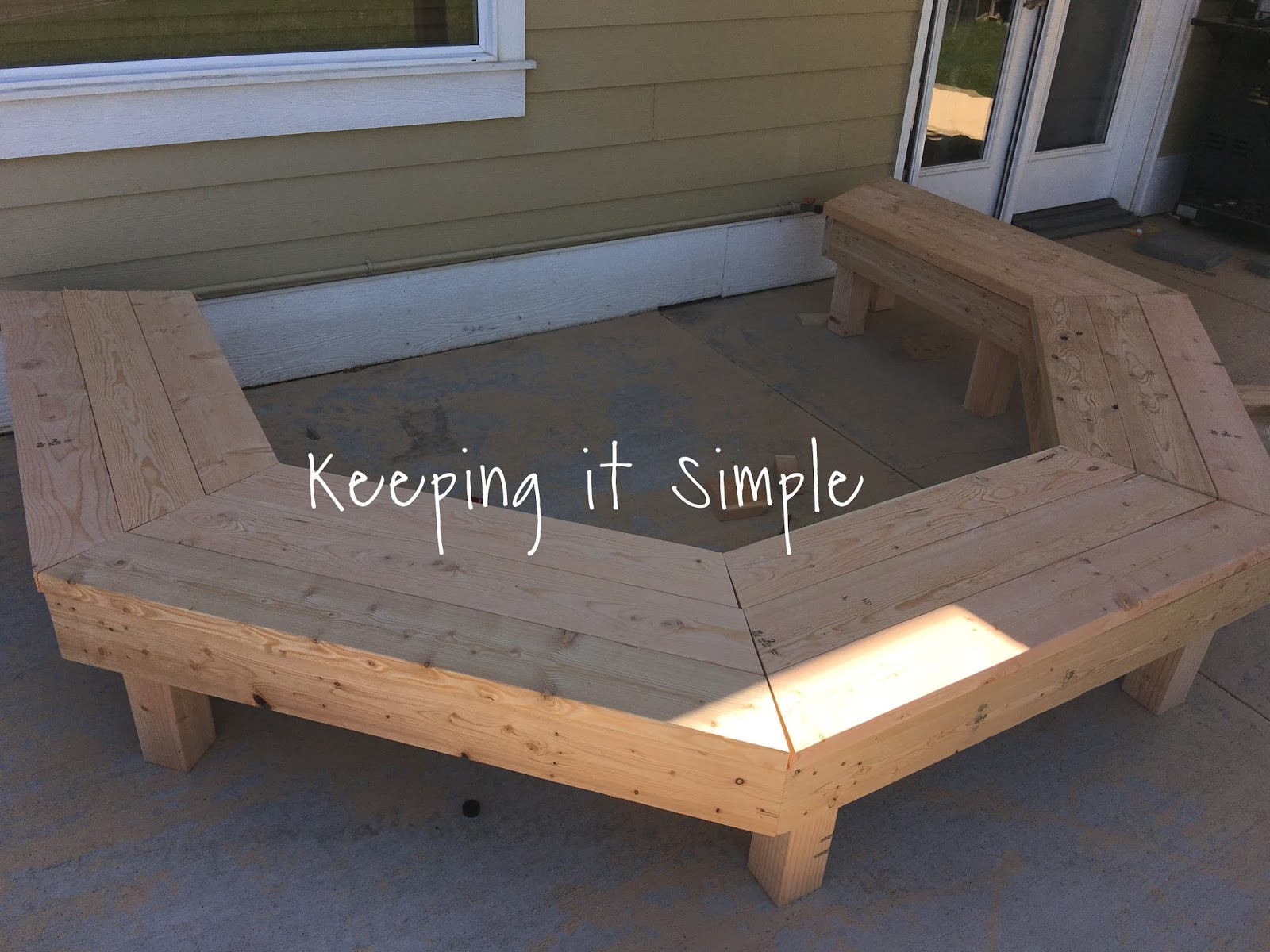 Remarkable Diy Fire Pit Bench With Step By Step Insructions Keeping Bralicious Painted Fabric Chair Ideas Braliciousco