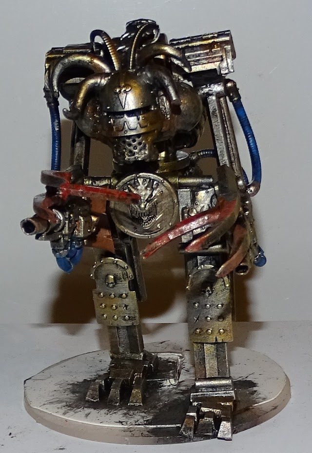 What's On Your Table: Iron Minotaur Dark Mechanicus Walker/Robot