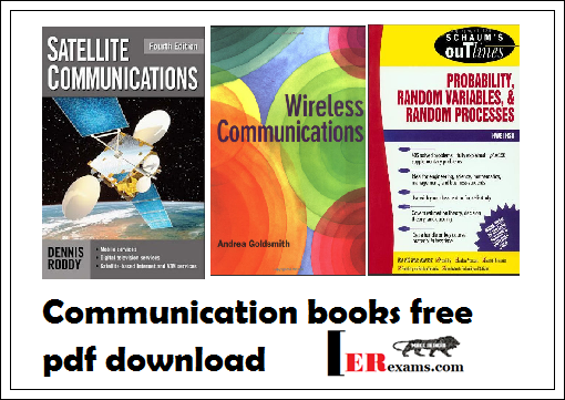 Communication Books Free Pdf Download Engineering Exams