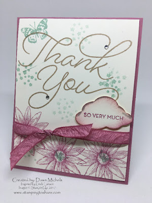 Stampin' Up! So Very Much Card created by Dawn Michels for Stamping to Share