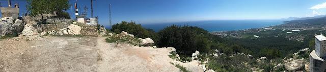 Ausblick vom Monte Kemer aus