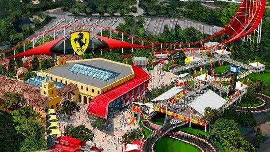 Ya ha comenzado la construcción del parque de atracciones Ferrari Land
