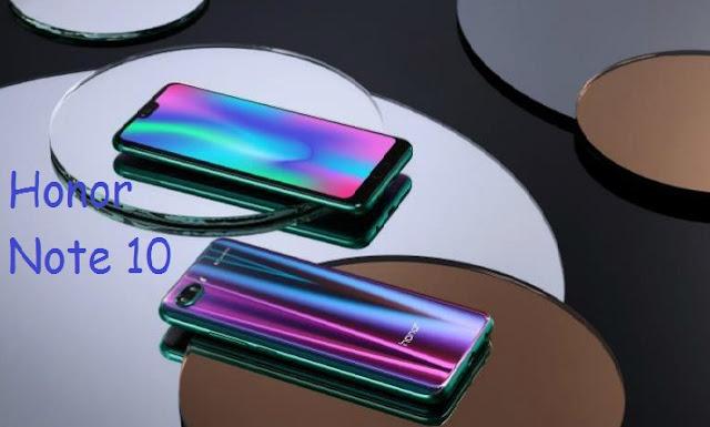Honor Note 10 Ditopang RAM 8 GB