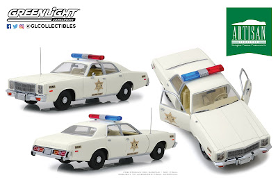 New Item Announcement! - Greenlight Collectibles Hazzard County Sheriff Car Coming January 2019