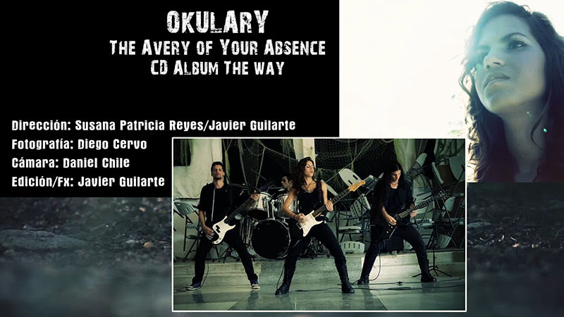 OKULARY - ¨The avery of your absence¨ - Videoclip - Dirección: Susana Patricia Reyes - Javier Guilarte. Portal Del Vídeo Clip Cubano