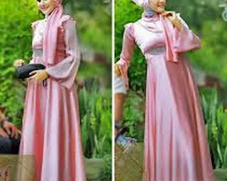 model baju hijab april jasmin