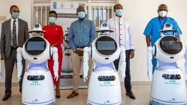 Rwanda Set-Up Robots That Will Assist In Coronavirus Screening