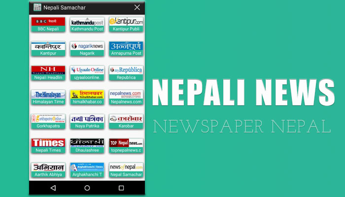 ANDROID APPS NEPALI NEWS