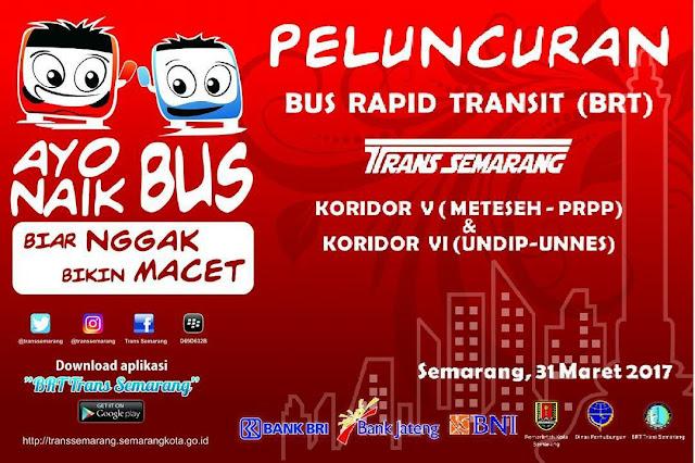 BRT jurusan Meteseh-PRPP dan Undip-Unnes
