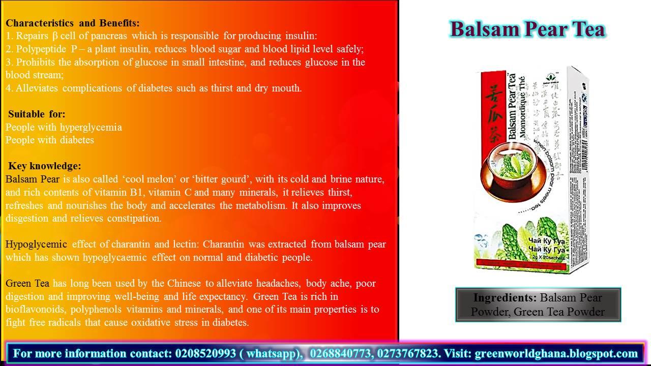Green World Products Ghana Diabetes