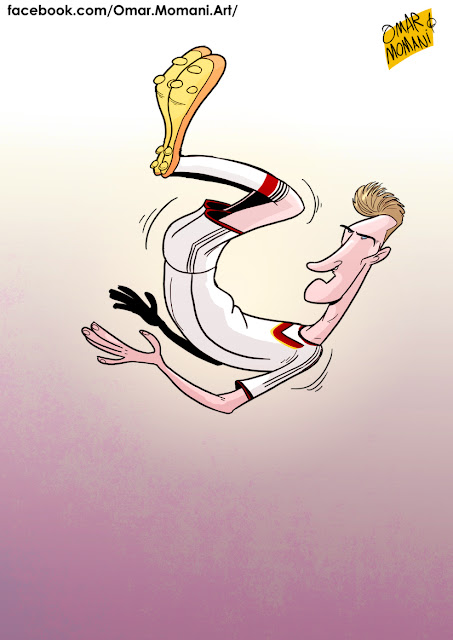 Miroslav Klose cartoon