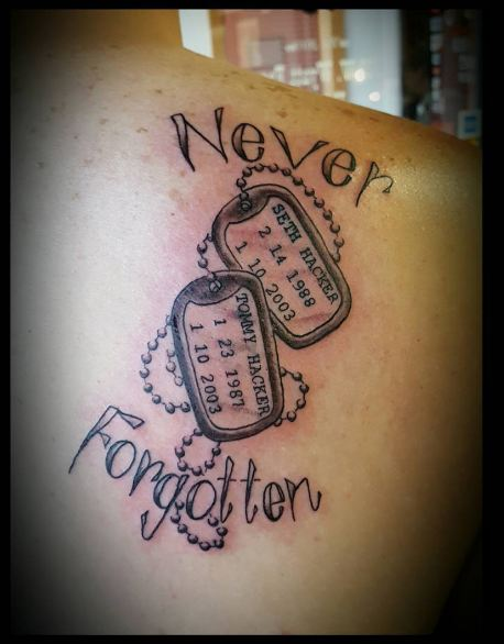 Dating a guy with a in memory tattoo of another girl