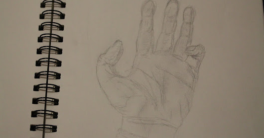 Drawing of own Hand