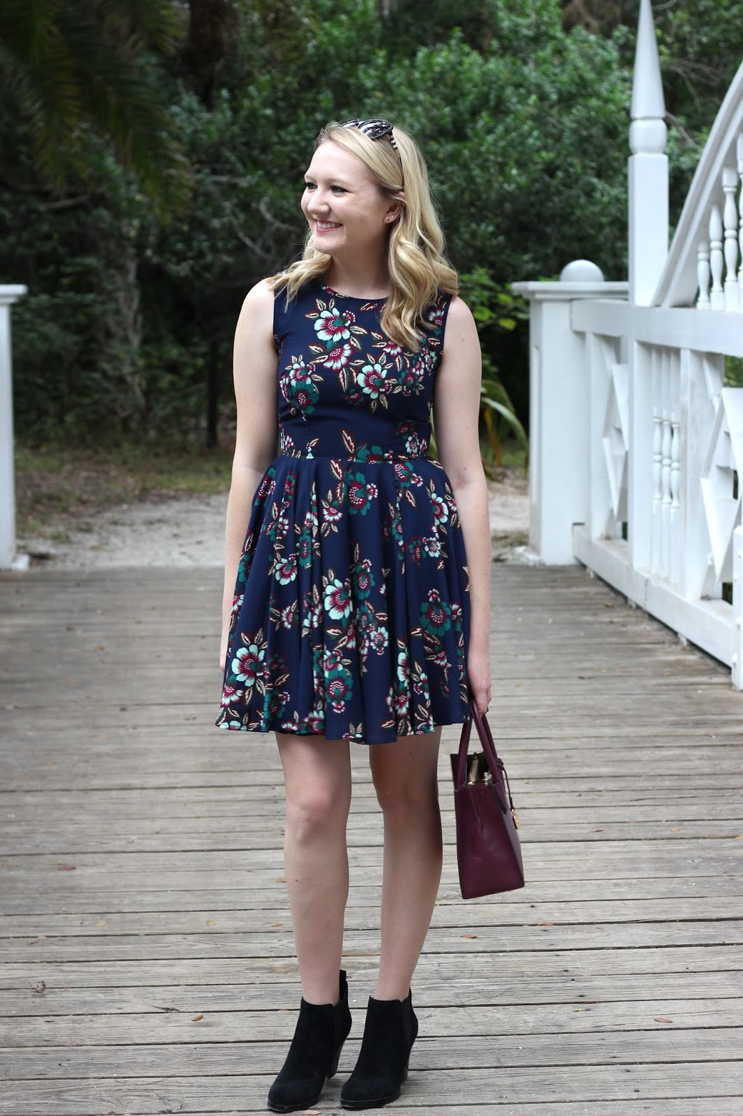 Blu Notte Fit & Flare Dress