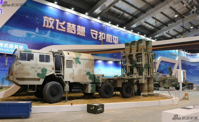 Image Attribute: LY-80 MR Missile System / Source: SINA