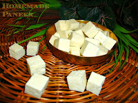 images for How to make Paneer / Homemade Cottage Cheese Recipe / Homemade Paneer Recipe