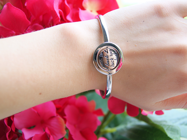 Just D Daydream armband met klaver symbool. Een mooie armband van echt zilver van Lucard