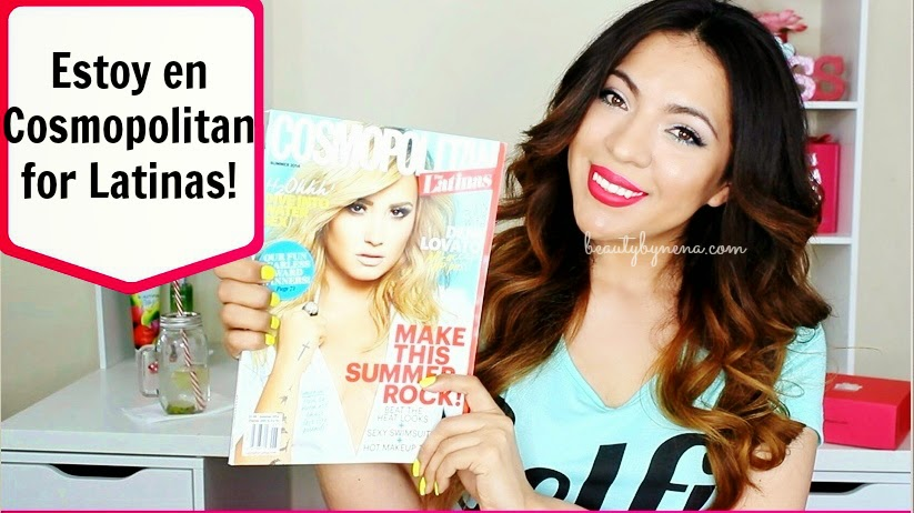 BeautybyNena en Cosmopolitan for Latinas!