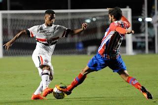 São Paulo derrotou o Bahia no jogo de ida da final da Copa do Brasil Sub-20