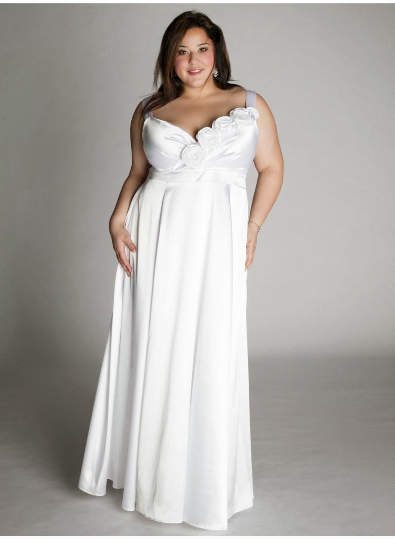 Imagenes de vestidos de novias para gordas