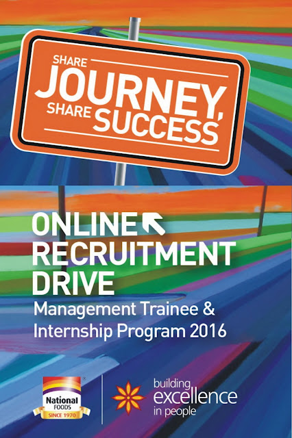 National Foods Limited Jobs Management Trainee & Summer Internship Program Online Apply