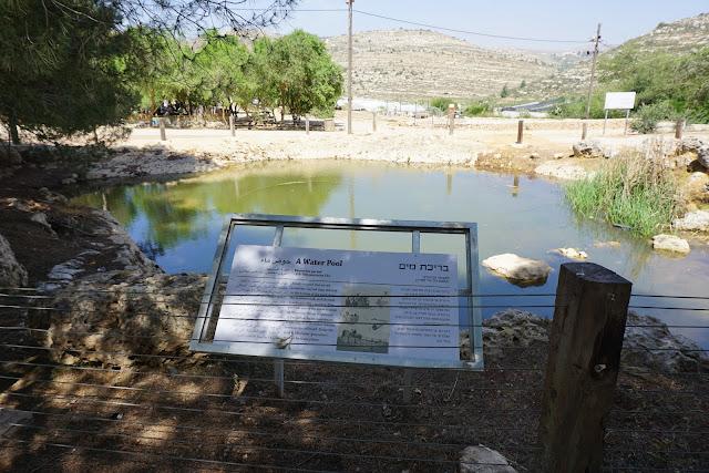 בריכת מים -שילה הקדומה