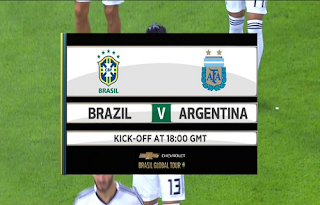 Friendly Match Brazil vs Argentina Biss Key Asiasat 5 17 October 2018