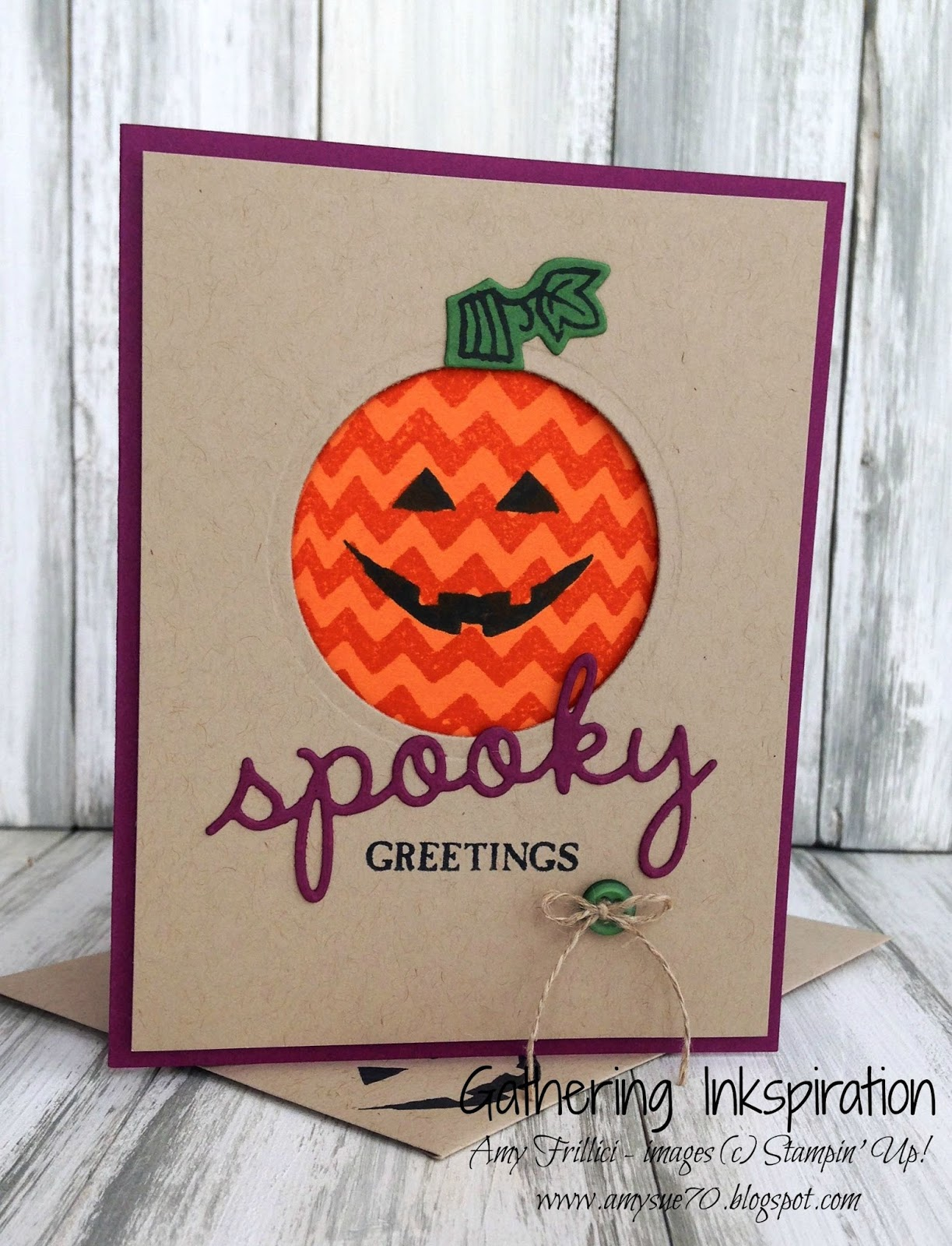 Gathering Inkspiration: Sparkly Seasons    Spooky Greetings
