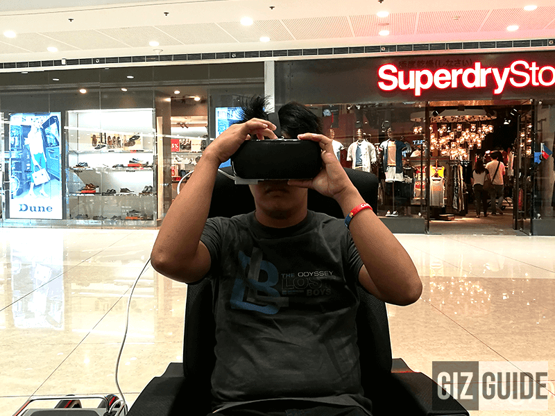 Experience Gear VR in 4D content