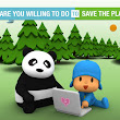 TheTideOfBattle: On Reaching 100.000 players Pocoyo Recycle Game will plant 50,000 trees (Hurry up! Only 3,373 players to go!)