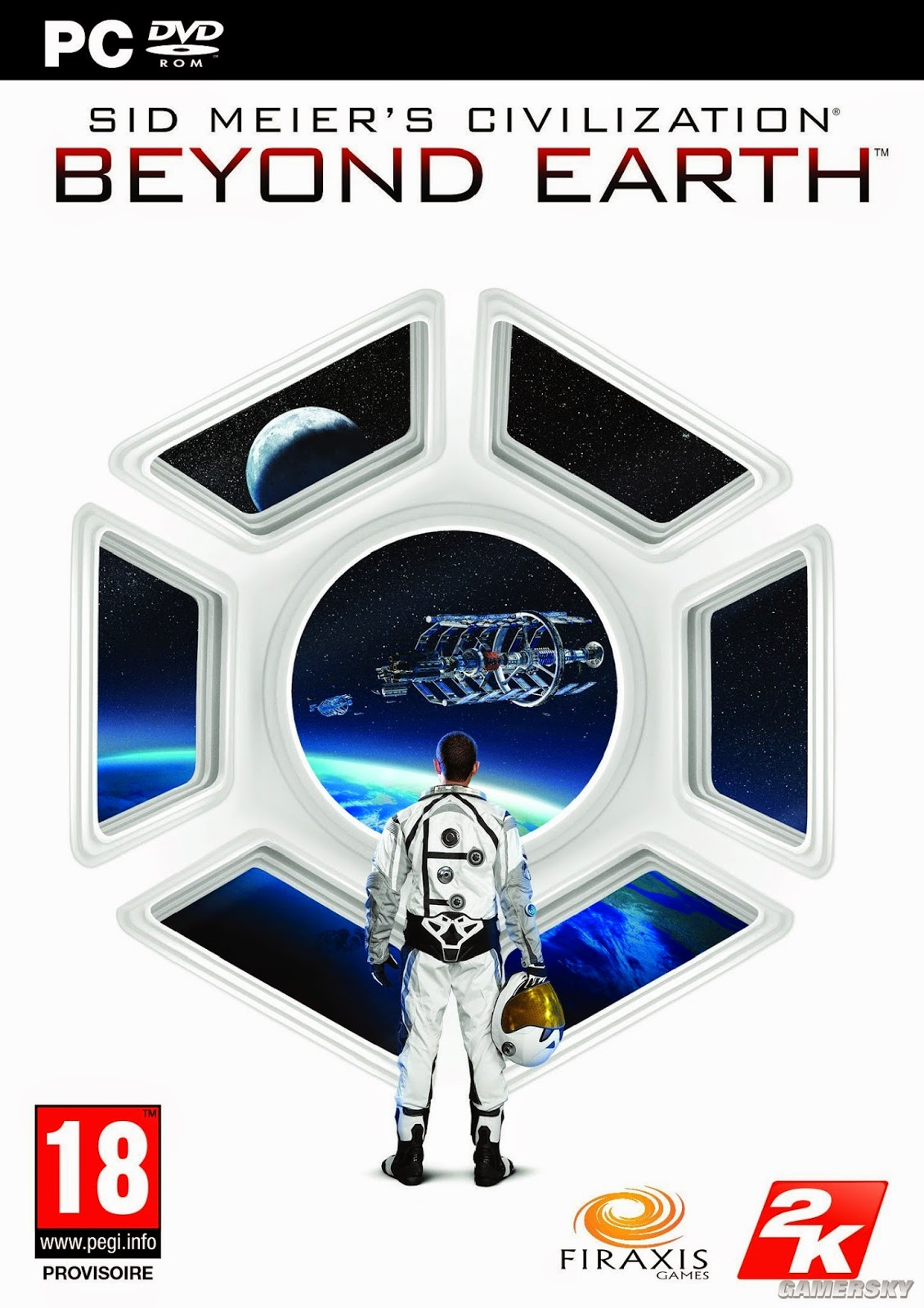 Sid Meier's Civilization Beyond Earth PC Cover Caratula
