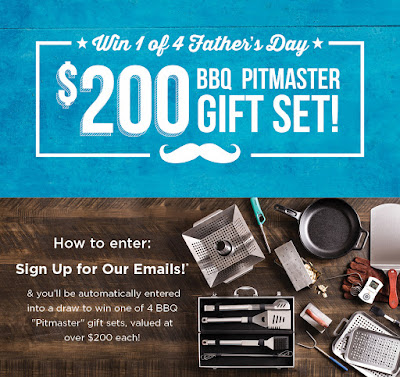 WIN 1 of 4 Father's Day BBQ Pitmaster Prize Packs