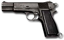 9mm pistol browning FN
