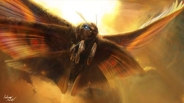 Papel de parede grátis Filme Godzilla 2 Mothra para PC, Notebook, iPhone, Android e Tablet.