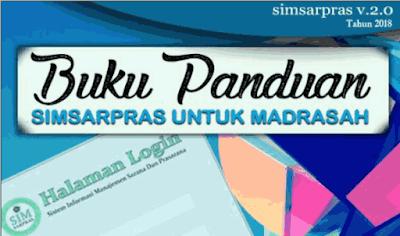 Download Buku Panduan Simsarpras Versi 2.0 Tahun 2018
