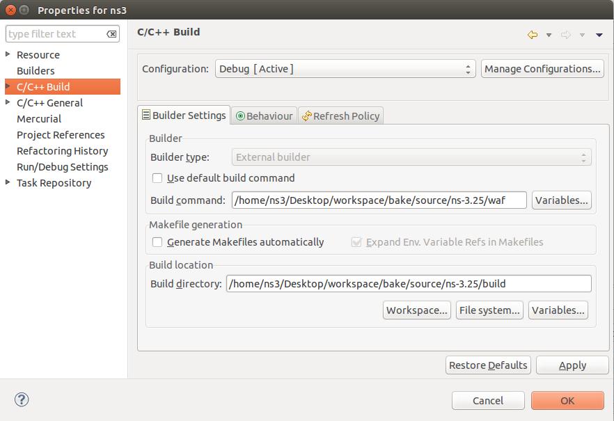 Installing NS-3 Network Simulator on Ubuntu | Handosa