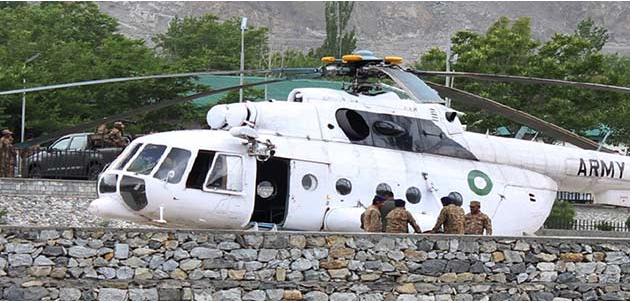 Berita Terkini Nahas Helikopter Terhempas Di Pakistan