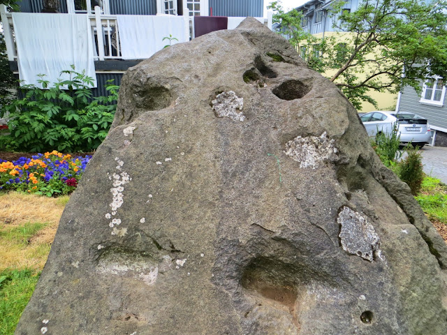 Iceland goblins stone
